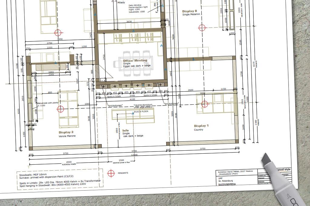 showroom- und messe-konzepte - woodnstyle - objektgestaltung, Innenarchitektur ideen